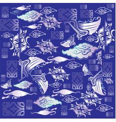 Indonesian batik vector