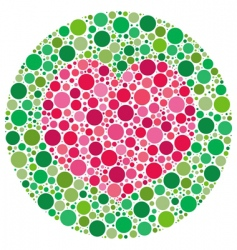 my love is color blind vector image