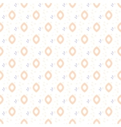 Oval drops tender seamless pattern vector image