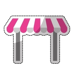 store shade icon image vector image