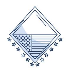 United states of asmerica emblem vector