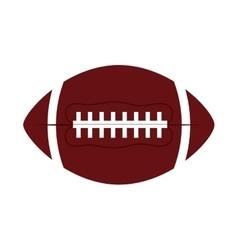 ball american football oval icon vector image