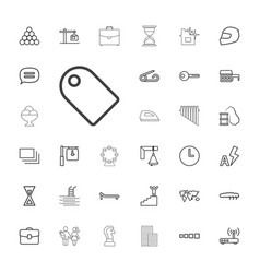 33 simple icons vector