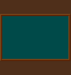 a school blackboard eps 10 vector image