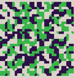 Abstract seamless pattern design with tiled vector