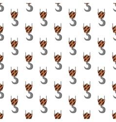 Crane pattern seamless vector image