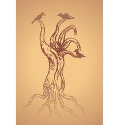 Dead Tree Sketch2 vector