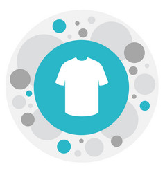 Of shopping symbol on t-shirt vector