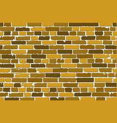 seamless texture of realistic old brick wall with vector image