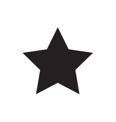 star icon favorite symbol vector image
