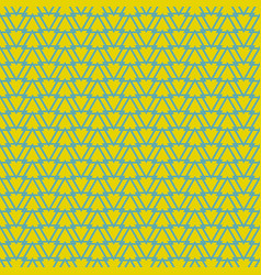 tile yellow green and blue pattern or background vector image