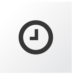 Wait icon symbol premium quality isolated watch vector