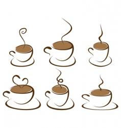 coffee3 vector image vector image