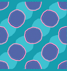 abstract net polka dot seamless pattern vector image