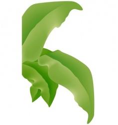 Big leafs vector