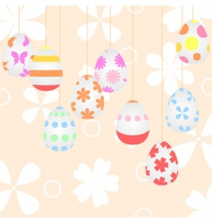 Easter background2 vector image