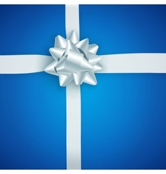 Gift background top view vector