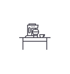 household juicer line icon sign vector image