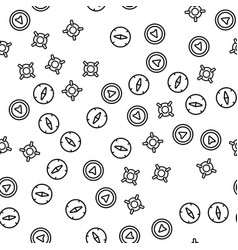 location destination point seamless pattern vector image