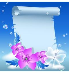 Parchment vector
