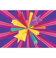 Stars Explosions vector