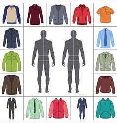 Street fashion clothing 11 vector