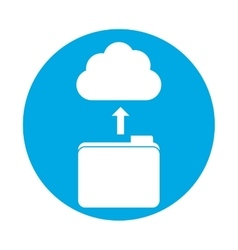 Symbol database storage icon image design vector