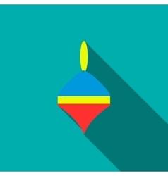 Whirligig icon flat style vector image