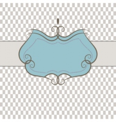 template frame vector illustration vector image vector image