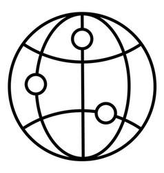 browser internet seo site web website icon vector image
