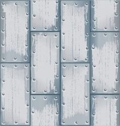metal plate 3 vector image vector image