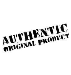 Authentic original product stamp vector