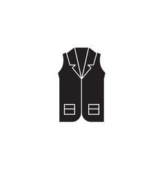 business vecst black concept icon business vector image