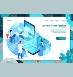 Online stomach prescription vector