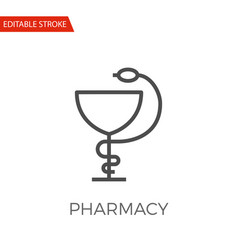Pharmacy icon vector