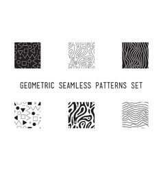 Universal lineal geometric seamless pattern vector image