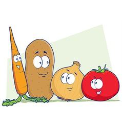 Vegetables Cartoon vector image