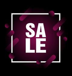 Modern dynamic design style super sale banner vector
