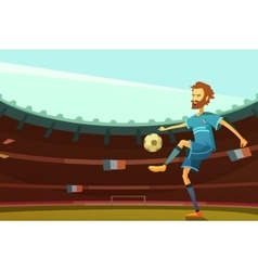 Euro 2016 background vector image vector image