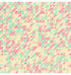 Polygonal abstract modern background vector image
