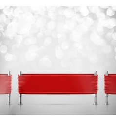 Stanchions Barrier vector image vector image