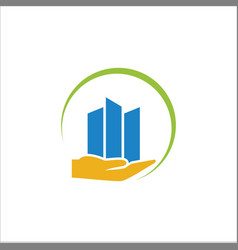 business-finance-logo vector image