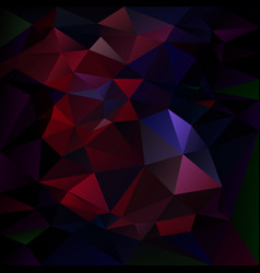 Abstract irregular polygon background dark vector