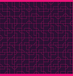 abstract seamless pattern design with tiled vector image