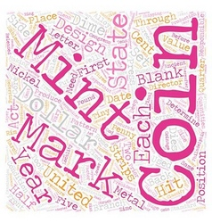 BWCC what are remints and mint marks 1 text vector
