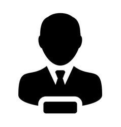 Delete user icon male person profile avatar minus vector