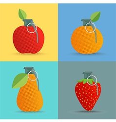 FruitBom vector image