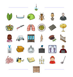 Medicine tourism entertainment and other web vector