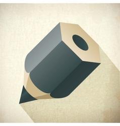 Pencil blog icon Web color vector
