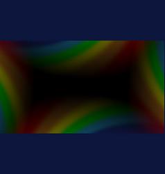 rainbow gradient background mesh vector image